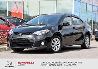 Used 2016 Toyota Corolla S AUTO BAS KM AUTO MI CUIR  BLUETOOTH CAMER RECUL for sale in Lachine, QC