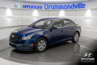 Used 2012 Chevrolet Cruze LS + GARANTIE + AIR CLIMATISE + BLUETOOT for sale in Drummondville, QC