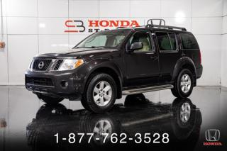 Used 2012 Nissan Pathfinder SV + 4WD + A/C + CAMERA + WOW! for sale in St-Basile-le-Grand, QC
