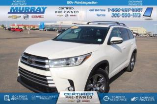Used 2018 Toyota Highlander LIMITED  for sale in Moose Jaw, SK