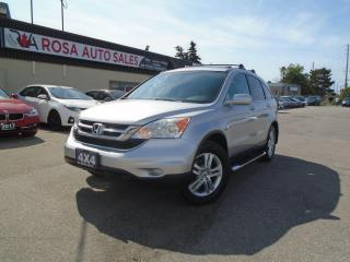 Used 2011 Honda CR-V 4WD EX SUNROOF NO ACCIDENT  REMOTE START SAFETY for sale in Oakville, ON