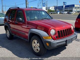 Used 2007 Jeep Liberty Sport Sport 4dr SUV for sale in Whitby, ON