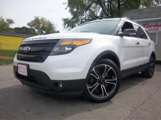 Used 2014 Ford Explorer SPORT for sale in Oshawa, ON