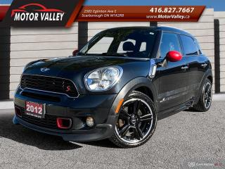 Used 2012 MINI Cooper Countryman S ALL4 - AWD NAVIGATION MINT! for sale in Scarborough, ON