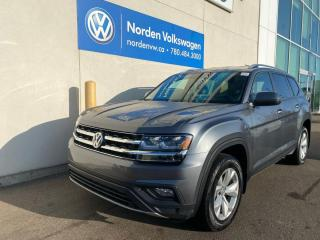 Used 2018 Volkswagen Atlas COMFORTLINE 4MOTION AWD - VW CERTIFIED for sale in Edmonton, AB