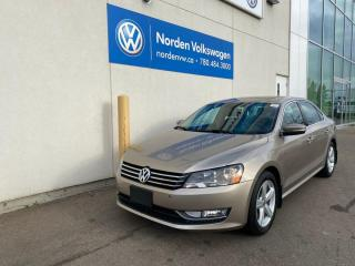 Used 2015 Volkswagen Passat 2.0L TDI COMFORTLINE DSG - LEATHER / CERTIFIED for sale in Edmonton, AB