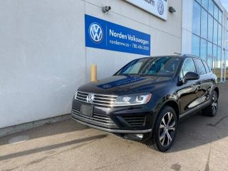 Used 2017 Volkswagen Touareg WOLFSBURG EDITION AWD - CERTIFIED for sale in Edmonton, AB