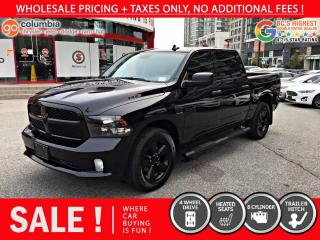 Used 2019 RAM 1500 Classic Express - No Accident / Local for sale in Richmond, BC