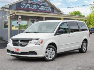 Used 2013 Dodge Grand Caravan SXT,STOW-N-GO,ECON,B.TOOTH,DUSL CLIMATE for sale in Orillia, ON