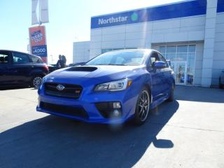 Used 2016 Subaru WRX SPORT TECH/MANUAL/BACKUPCAM/LEATHER/NAV/ for sale in Edmonton, AB