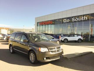 Used 2014 Dodge Grand Caravan LEATHER, POWER SLIDING DOORS, DVD for sale in Edmonton, AB