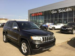 Used 2011 Jeep Grand Cherokee LIMITED, 4WD, LEATHER, SUNROOF for sale in Edmonton, AB