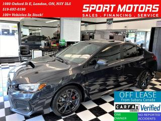 Used 2018 Subaru WRX Sport-tech RS-PKG AWD+Roof+NewBrakes+ACCIDENT FREE for sale in London, ON