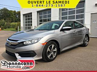 Used 2016 Honda Civic LX *GARANTIE GLOBALE 2022 OU 100 000 KM* for sale in Donnacona, QC