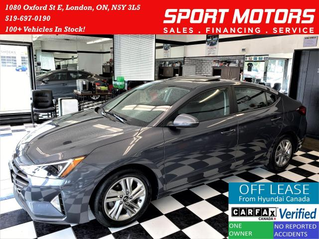 2019 Hyundai Elantra Preferred W/Sun & Safety PKG+Sunroof+ACCIDENT FREE