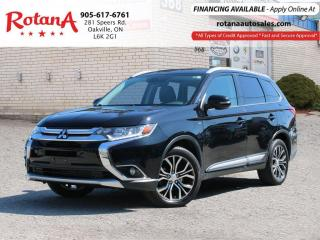 Used 2016 Mitsubishi Outlander GT-S_Leather_Sunroof_Rear Camera for sale in Oakville, ON