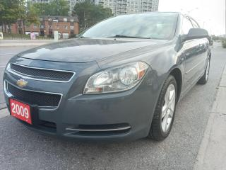 Used 2009 Chevrolet Malibu LS-EXTRA CLEAN-DRIVES EXCELLENT-AUX-ALLOYS for sale in Scarborough, ON
