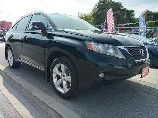 Used 2010 Lexus RX 350 LEATHER-SUNROOF-BK UP CAM-BLUETOOTH-AUX-ALLOYS for sale in Scarborough, ON