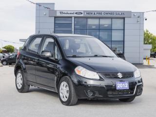 Used 2012 Suzuki SX4 Hatchback JA CLEAN CARFAX   EXCELLENT CONDITION for sale in Winnipeg, MB