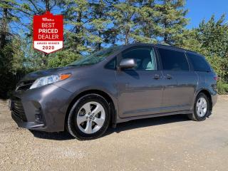 Used 2019 Toyota Sienna LE *PWR SLIDING DOORS - REAR CAMERA - RADAR CRUISE for sale in Winnipeg, MB