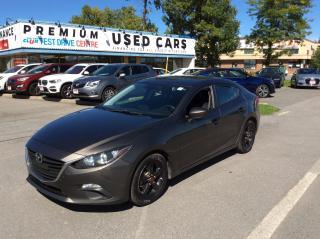 Used 2016 Mazda MAZDA3 GX SEDAN - AUTO - A/C - BACK UP CAMERA! for sale in Ottawa, ON