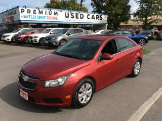 Used 2014 Chevrolet Cruze LT - AUTO - A/C - FACTORY AUTO START! for sale in Ottawa, ON