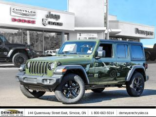 New 2021 Jeep Wrangler UNLIMITED ALTITUDE | DUAL TOP | TECH GROUP for sale in Simcoe, ON