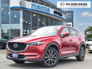 Used 2017 Mazda CX-5 GT |ONE OWNER|NO ACCIDENTS|1.99% FINANCING AVAILAB for sale in Mississauga, ON