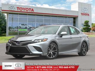 New 2020 Toyota Camry HYBRID SE for sale in Whitby, ON