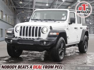 New 2021 Jeep Wrangler Unlimited Sport Altitude for sale in Mississauga, ON