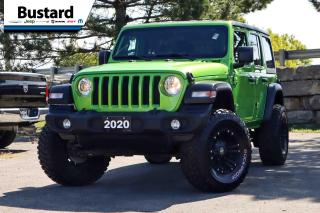Used 2020 Jeep Wrangler Unlimited Sport S | 4X4 | ALPINE | LIFT KIT for sale in Waterloo, ON