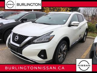 New 2020 Nissan Murano AWD SL for sale in Burlington, ON
