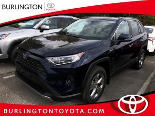 New 2020 Toyota RAV4 Hybrid Limited AWD for sale in Burlington, ON