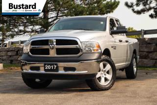 Used 2017 RAM 1500 4WD Quad Cab 140.5  ST | Hemi | 4x4 | Clean Carfax for sale in Waterloo, ON