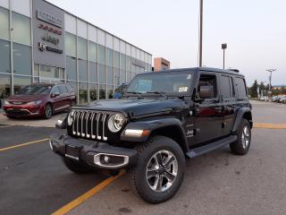 New 2021 Jeep Wrangler Unlimited SKY ROOF LEATHER NAVI SAFETY GROUP for sale in Pickering, ON