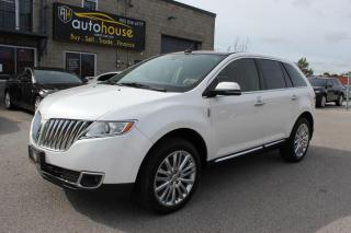 Used 2013 Lincoln MKX AWD,NAVI,BACKUP CAMERA,DUBEL SUNROOF,REMOTE STARTER for sale in Newmarket, ON