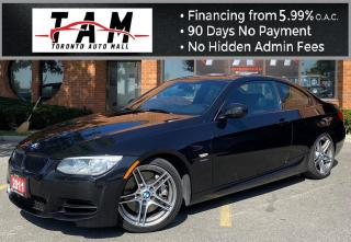 Used 2011 BMW 3 Series 335i Coupe 335is-M Performance-DCT 7 speed-Navigation for sale in North York, ON