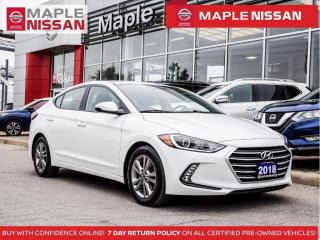 Used 2018 Hyundai Elantra GL Backup Camera Heated Seats Bluetooth Alloys for sale in Maple, ON