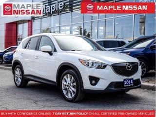 Used 2014 Mazda CX-5 Grand Touring Navi Moonroof Backup Cam Bluetooth for sale in Maple, ON