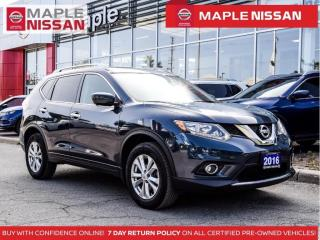 Used 2016 Nissan Rogue SV AWD Navi Blind Spot Pano Moonroof 360 Camera for sale in Maple, ON