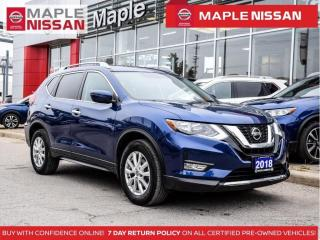 Used 2018 Nissan Rogue SV AWD Blind Spot Remote Start Apple Carplay for sale in Maple, ON