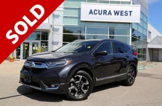 Used 2018 Honda CR-V Touring for sale in London, ON