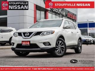 Used 2016 Nissan Rogue SL AWD  Leather  Pano Roof  Bose  360 CAM  HTD STS for sale in Stouffville, ON