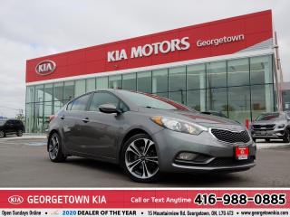 Used 2015 Kia Forte EX | B/T | CLEAN CARFAX | ROOF | B/U CAM | HTD STS for sale in Georgetown, ON