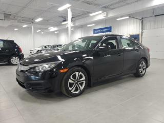 Used 2017 Honda Civic LX - CAMERA + BLUETOOTH + SIEGES CHAUFFANTS !!! for sale in St-Eustache, QC