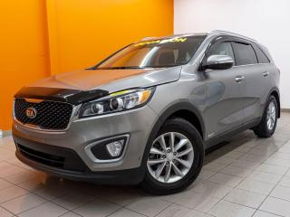 Used 2017 Kia Sorento LX TURBO AWD ANDROID CAMÉRA SIÈGES CHAUF *BAS KM* for sale in St-Jérôme, QC