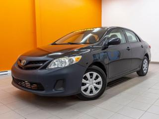 Used 2012 Toyota Corolla CLIMATISEUR *PROGRAMME 100% APPROUVÉ* for sale in St-Jérôme, QC