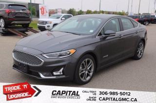 Used 2019 Ford Fusion Hybrid Titanium*LEATHER*SUNROOF*NAV* for sale in Regina, SK