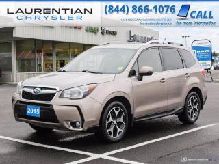 Used 2015 Subaru Forester XT Limited - AWD !! HEATED SEATS !! for sale in Sudbury, ON
