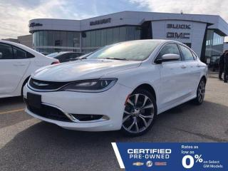 Used 2016 Chrysler 200 C FWD | Heated Seats | Heated Steering Wheel for sale in Winnipeg, MB